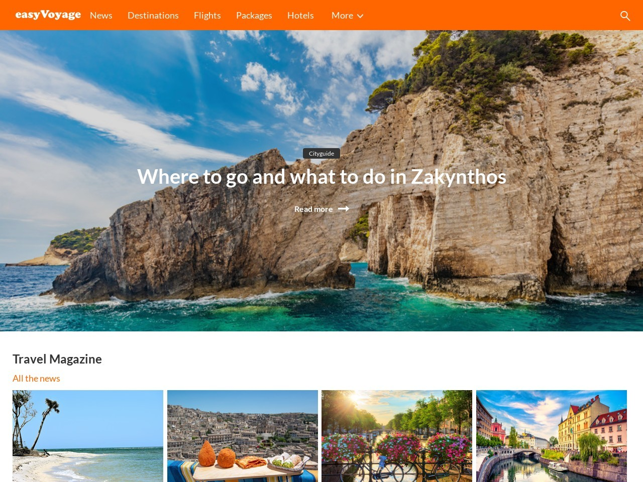 Holiday Comparison - Find the best offers with Easyvoyage