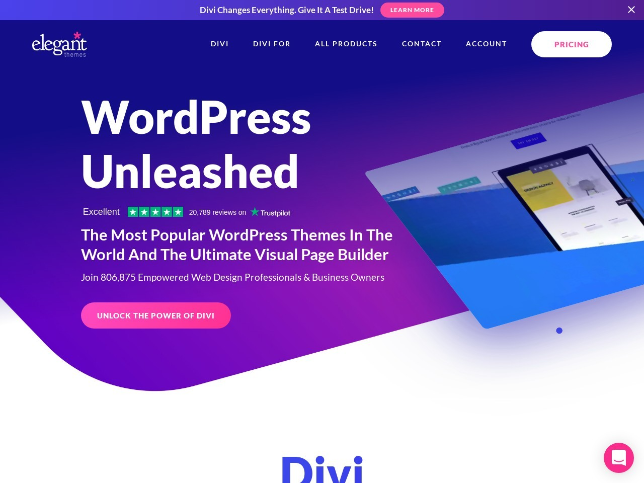 WordPress Themes Loved By Over 500k Customers
