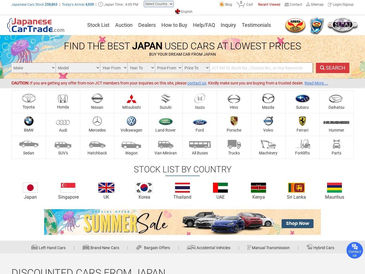 japanesecartrade.com