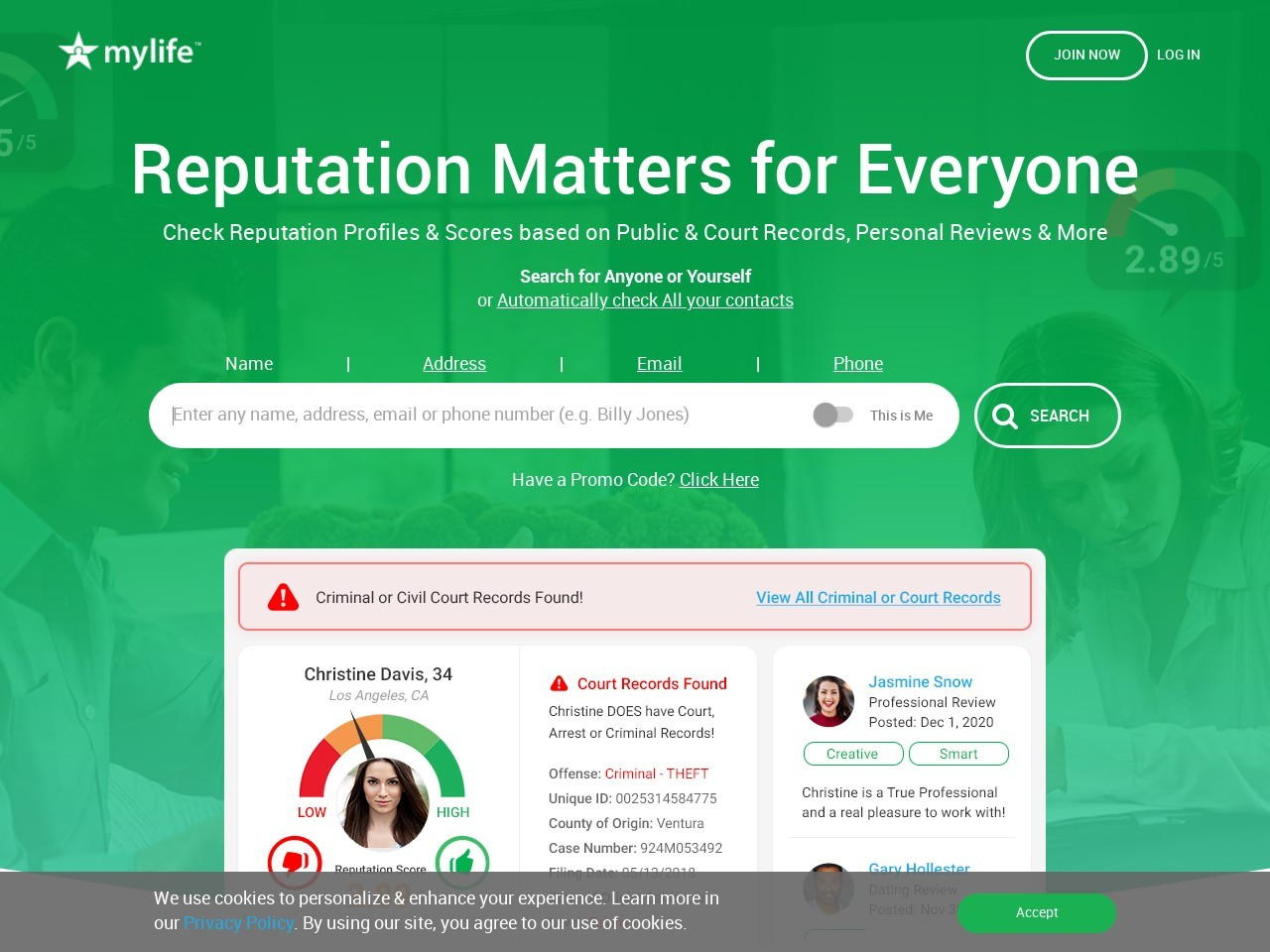 Background Report: Search, Check & Edit Public Background Reports