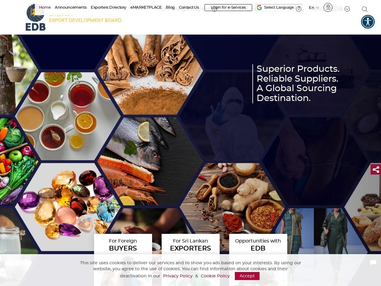 Sri Lanka Exports Development Board   Sri Lanka Business Portal